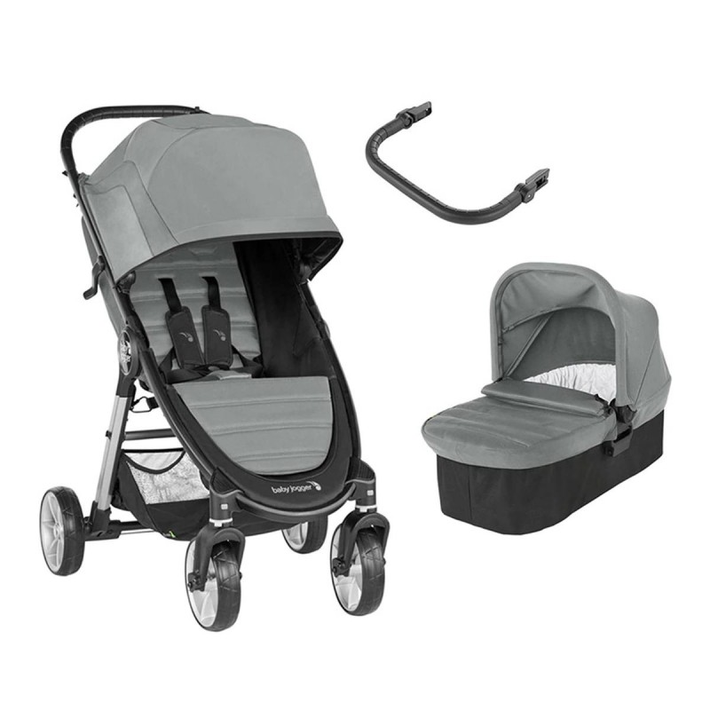 Baby Jogger Dúo City Mini 2 (4 Ruedas) slate