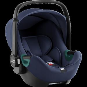 Britax Römer Pack Silla Grupo 0+ Baby-Safe 3 i-Size + Base iSense Indigo Blue 23746
