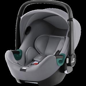 Britax Römer Silla Coche Grupo 0+ Baby-Safe i-Sense Frost Grey 23748