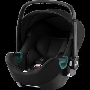 Britax Römer Silla Coche Grupo 0+ Baby-Safe i-Sense Space Black 23747