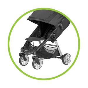 Baby Jogger Dúo City Mini 2 (4 Ruedas) ruedas