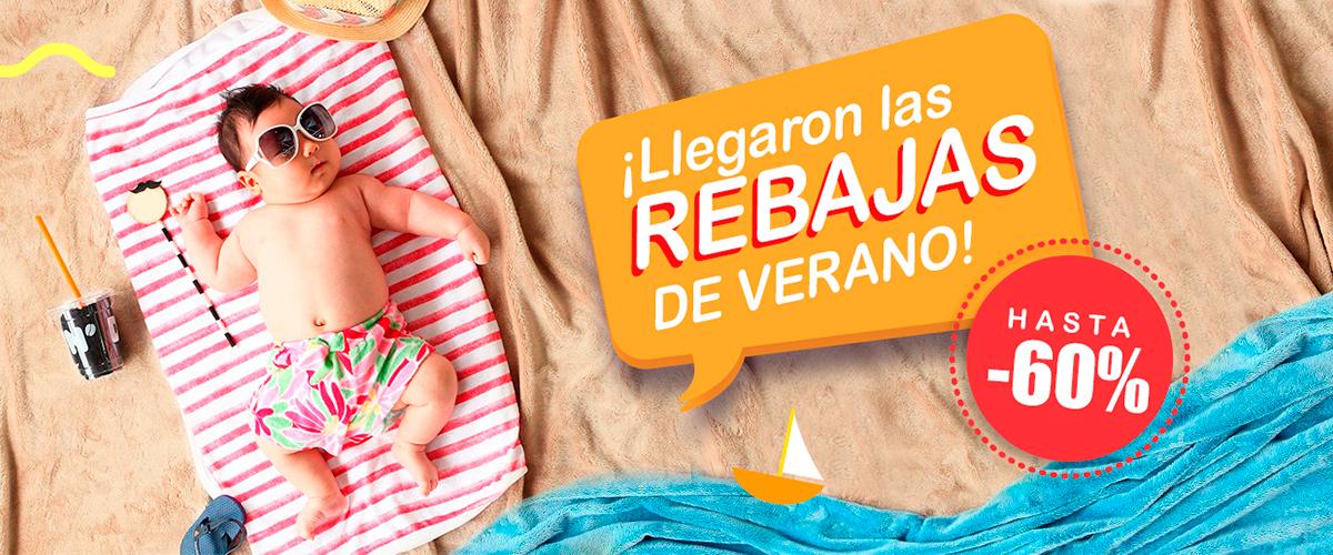 Rebajas de verano 2021 productos de bebé