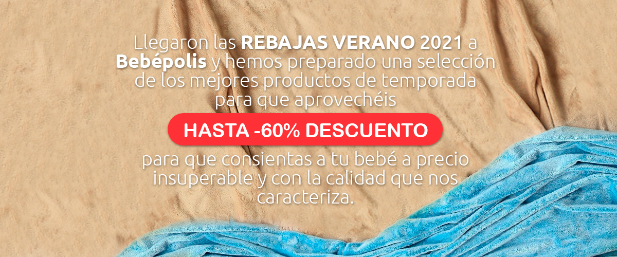 Rebajas de verano 2021 hasta -60% en Tronas, cunas de bebés, silla de paseo bebé, silla de coche bebé, porteo, cunas, minicunas, bolso maternal, maleta maternal