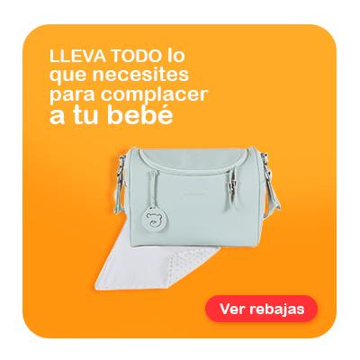 rebajas en bolsos maternales