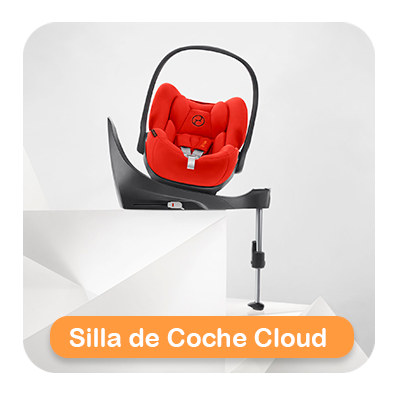 silla de coche cloud