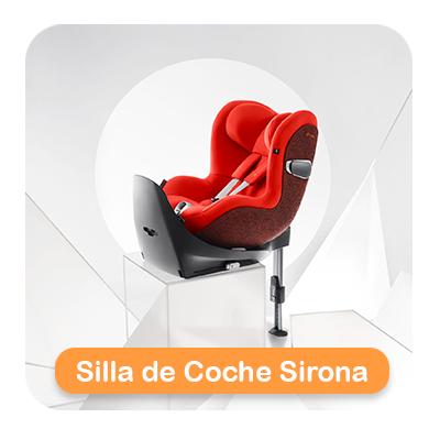 silla de coche sirona