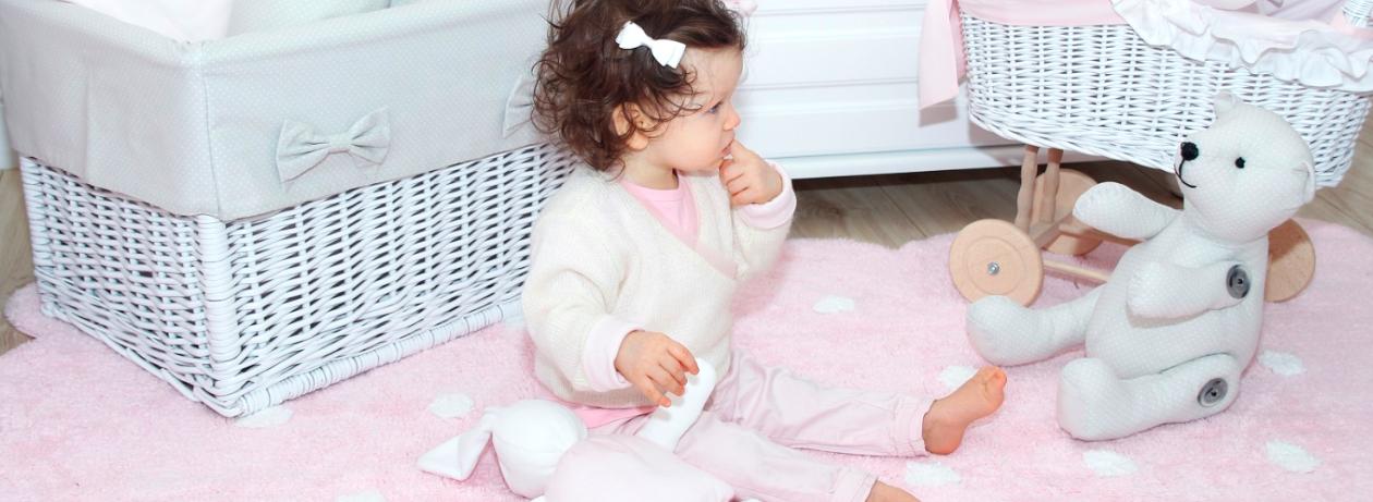 alfombras para habitación de bebés