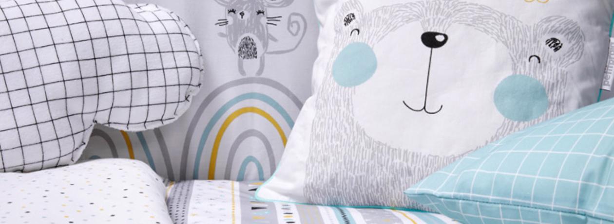 cojines y almohadas para bebés